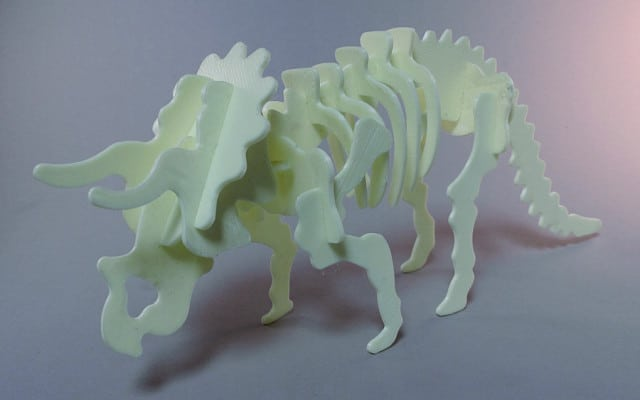 3D-Printable Triceratops