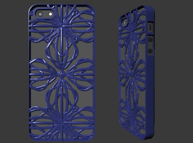 iPhone 5 Case – Fractal Design