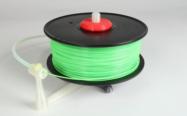 Universal stand-alone filament spool holder (Fully 3D-printable) Main image