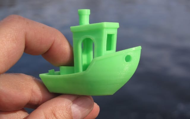 (1) 3D-printed #3DBenchy by Creative-Tools.com