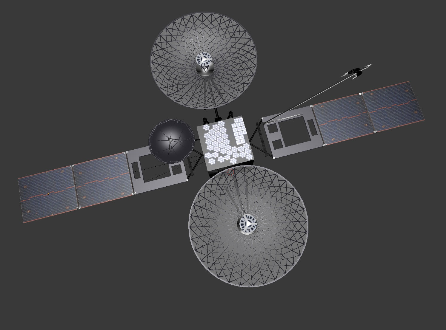 TDRS, Tracking and Data Relay Satellite