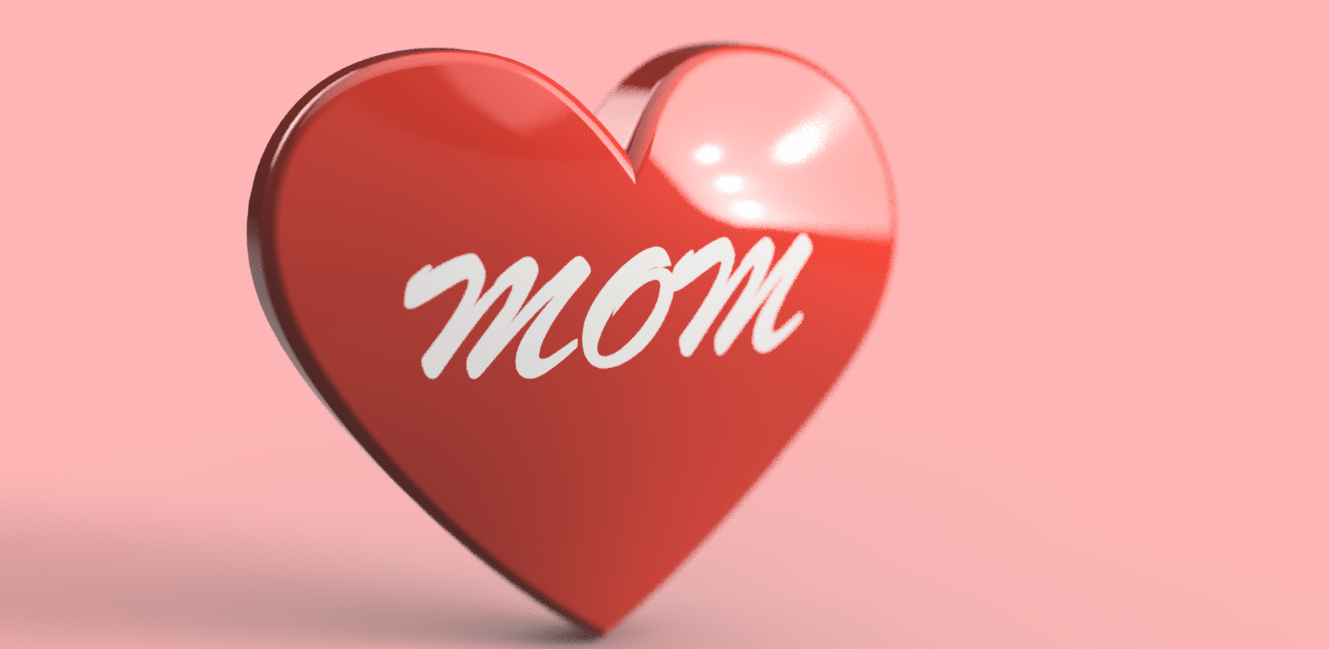 Mother's Day Dual Extrusion Heart