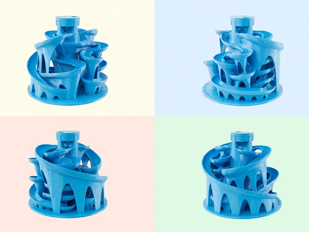 The 3D Printed Marble Machine #3