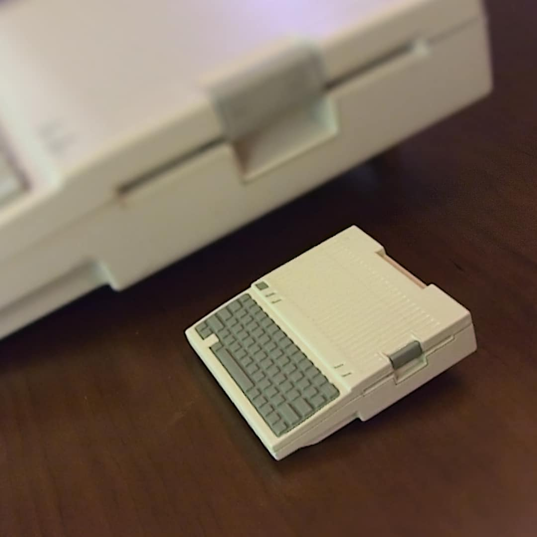 Apple IIc Raspberry Pi Case (model A) - Spyder3D World