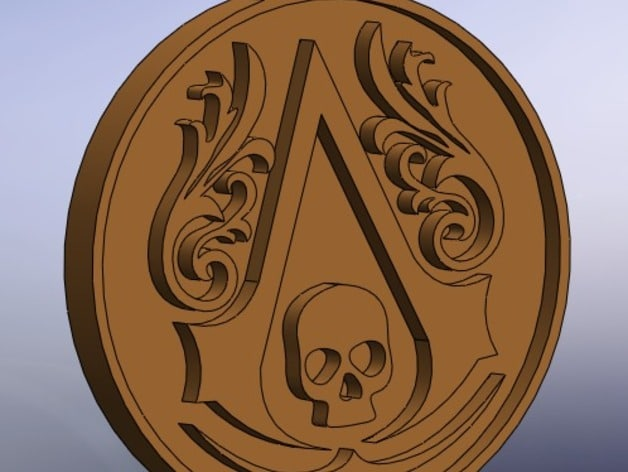"<span itemprop=""name"">Assassins Creed Logo ( Black Flag )</span>"
