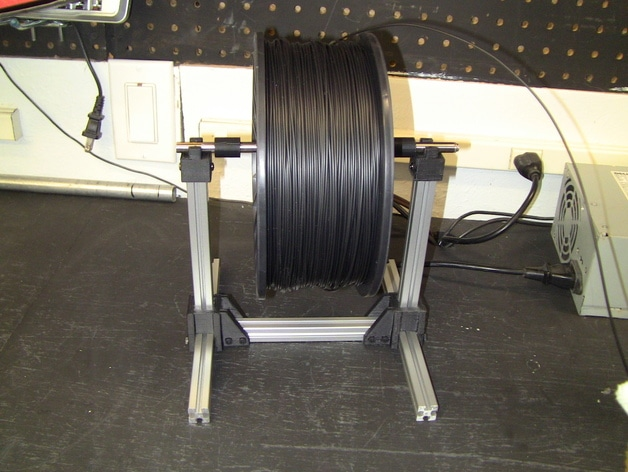 Spool Holder Extruded Aluminum 15×15